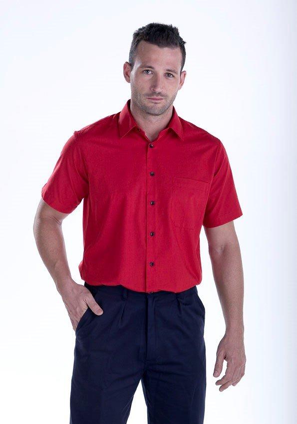 Camisa roja Facel - vestuario laboral en Valencia