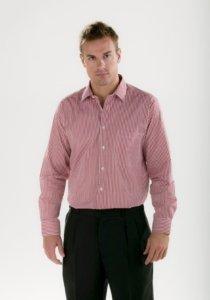 Camisa rayas Facel - vestuario laboral en Valencia