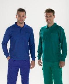 Polos de colores Facel - vestuario laboral en Valencia