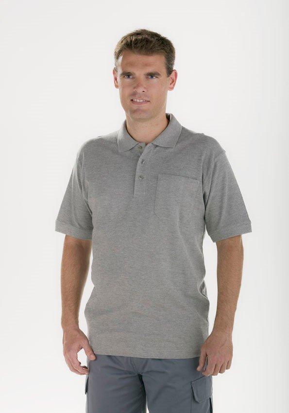 Polo gris Facel - vestuario laboral en Valencia