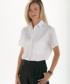 Camisa blanca mujer Facel - vestuario laboral en Valencia