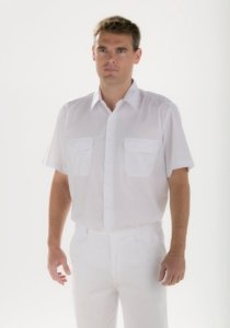 Camisa blanca Facel - vestuario laboral en Valencia