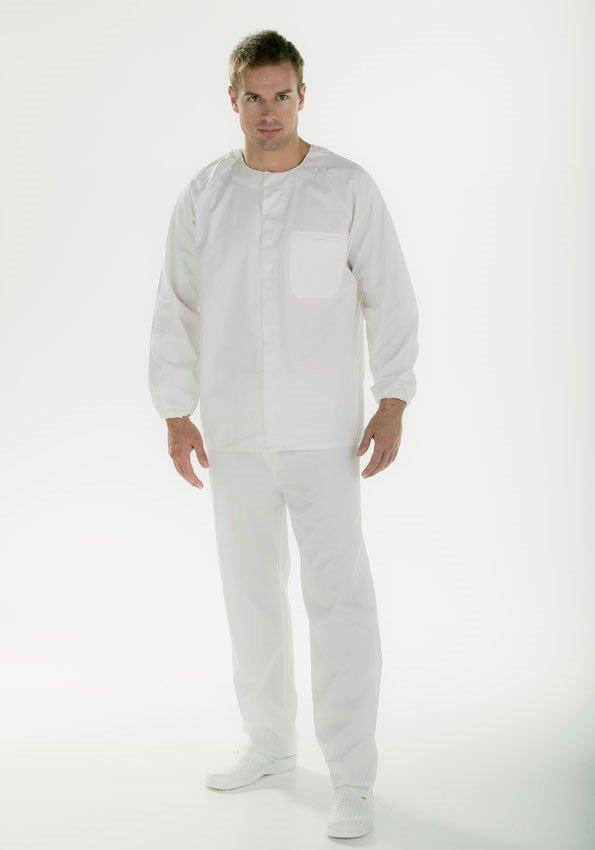 Uniforme blanco Facel - vestuario laboral en Valencia