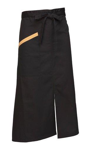 Delantal negro Facel - vestuario laboral en Valencia