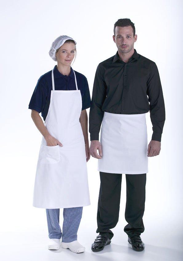 Delantales blancos Facel - vestuario laboral en Valencia
