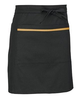 Delantal corto negro Facel - vestuario laboral en Valencia